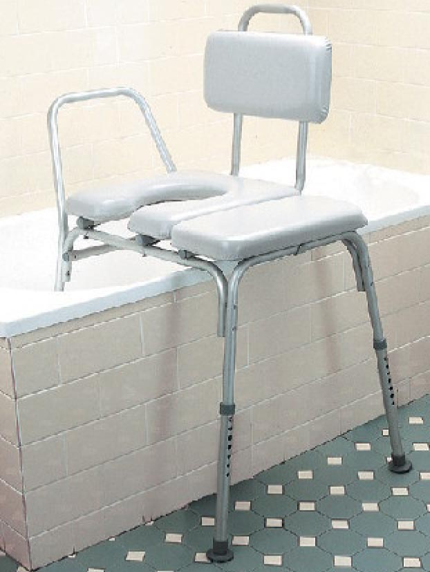 Shower Chairs : Transfer Bench Open Front - B5922