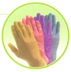 Vinyl Examination Gloves - Green